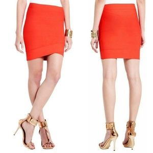 BCBGMaxAzria Bandage Mini Skirt Silvie Small